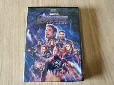 AVENGERS ENDGAME DVD MOVIE NEW SEALED IRONMAN CAPTAIN AMERICA HULK THOR MARVEL