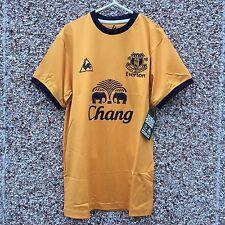 Everton away 2011/2012 Football Shirt size adult small Yellow trikot BNWT NEW