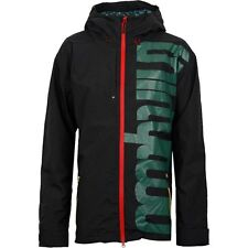 ThirtyTwo Men's SHILOH 2 Shell Snow Jacket - Black - Large - NWT