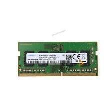 Samsung 4 Go Ddr4 Pc4-19200 2400t 260pin SODIMM Pc4-2400t-sc0-11 RAM Mémoire #95