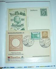 Briefmarkenalbum Deutsches Reich Luxemburg Böhmen Elsaß & Welt PF Fundgrube !