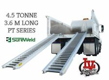 SUREWELD 4.5T LOADING RAMPS 7/4536PT PT SERIES