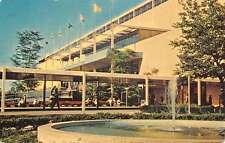 Long Island New York Aqueduct Big A Grandstand Entrance Vintage Postcard K40671