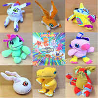 McDonalds Happy Meal Toy 2001 Digital Digimon Monster Plush Toys - Various