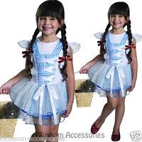 CK421 Dorothy Tutu Girls Wizard of Oz Toddler Book Week Fancy Dress Up Costume