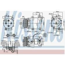 ✅ Nissens 89327 AC Compressor For VOLVO S40 V50 04-12 / FORD C-Max Focus *New*
