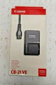 Canon Battery Charger CB-2LVE For NB-4L Genuine Digital Camera Accessories BNIB