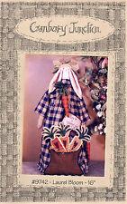 "Cranberry Junction Sewing Craft Doll Pattern # 9742 ""Laurel Bloom"" 16"""