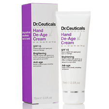 100% Genuine Dr. Ceuticals Hand De-Age Cream SPF15, 75ML