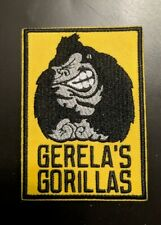 """Pittsburgh Steelers """" Gerela'S Gorillas """" Embroidered Patch"""