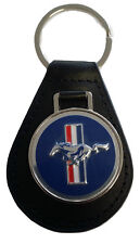 Ford Mustang Keyring Leather Fob 1964 1965 1966 1967 1968 64 65 66 67 68 289 390