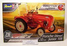 Revell 1/24: 07820 Traktor Porsche-Diesel Junior 108 - easy-click-Bausatz