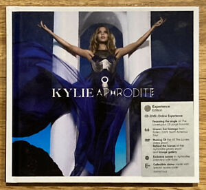 Kylie Minogue Aphrodite CD + DVD + Online Experience Edition Collectible Sticker