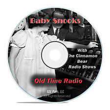 Baby Snooks, 1,151 Old Time Radio Shows, Police Crime Drama OTR mp3 DVD G24