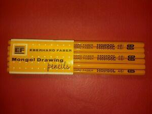 EBERHARD FABER MONGOL 481 5H ARTIST AND DRAWING PENCILS    USA