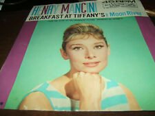 Henry Mancini Breakfast At Tiffany's/Moon River 45 RPM RCA Victor