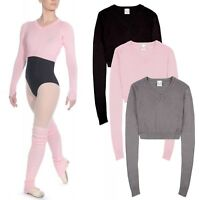 Roch Valley Dance Ballet Tap Acrylic Cropped Knitted V Neck Jumper RVKNIT