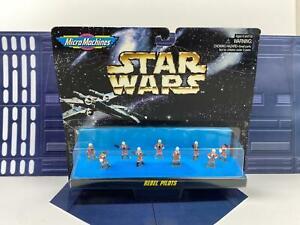 Micro Machines 66076 Star Wars Rebel Pilots Galoob 1996