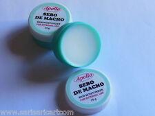 2 LARGE Apollo Sebo De Macho Skin Moisturizer Scar Remover Makeup Base EFFECTIVE