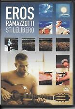 DVD ZONE 2--CONCERT--EROS RAMAZZOTTI--STILELIBERO / EUROPEAN TOUR 2001