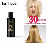 0% Formaldehyde Keratin Treatment NO Smell NO Smoke Make Smooth Shiny Hair 100ml