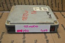 1998 Chevrolet Metro Engine Control Unit ECU 3392050GL0 Module 190-4A9