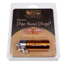 RG Hardie Tubo Banda Enchufes Tapones para los oídos Pipers los Bateristas gaita Highland