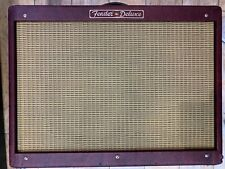 Fender Red Hot Deluxe Limited Edition rare 40w Valve Amplifier + Pedal (X36578)