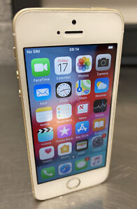Apple iPhone SE - 16GB - Gold Vodafone A1723 - No Reserve