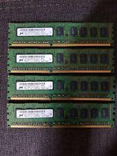 Micron 2GB PC3-8500E (DDR3-1066Mhz, 2RX8) ECC Unbuffered RAM