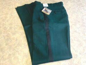 Men's ~ELBECO TexTrop Green with Black Strip Uniform Police Pants - 29x36U - NEW