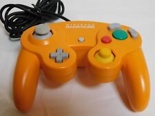 Nintendo GameCube Official Controller Orange color Wii Pad Game JAPAN F/S