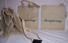 New Lot of 2 TANQUERAY Reusable 6 Bottle Carry TOTE BAGS Be Eco Friendly!