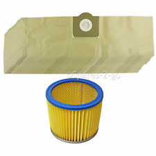 20 Hoover BAGS + FILTER for LIDL PARKSIDE Vacuum PNTS 1250 1300 1400 1500 A1 B1