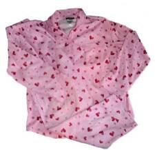 Joe Boxer Girls Fleece Heart Print Pajama's PJ'S Size 10/12