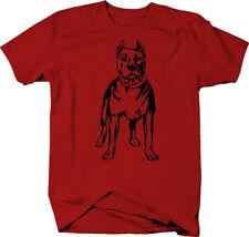 Pitbull Staffy Dog Lover American Bulldog Color T-Shirt