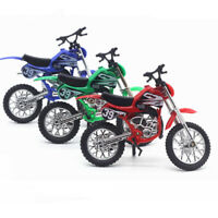 Mini Alloy Finger Motorcycle Bike Model Bicycle Fans Kids Game Toy Gift Display