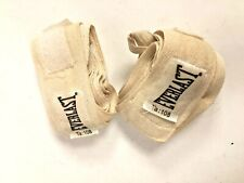 Everlast Hand Wraps White Ta:108 Boxing Martial Arts Hook & Loop