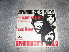 APHRODITE'S CHILD 45 TOURS FRANCE I WANT TO LIVE