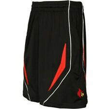 Adidas Louisville Cardinals Black 8 inch Inseam Replica Basketball Shorts