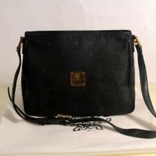 e61ffd730dfd MCM Monogram Visetos Camera Black Nylon Cross Body Bag 869877
