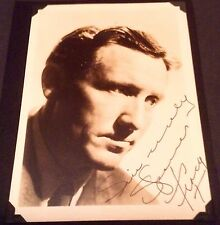 Spencer Tracy Vintage Autograph photo COA