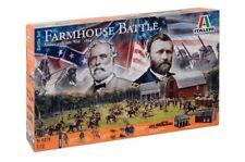 ITALERI 1:72 FARMHOUSE BATTLE AMERICAN CIVIL WAR 1864 SET ART. 6179