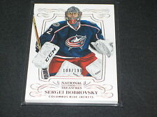 SERGEI BOBROVSKY GOALIE STAR GENUINE AUTHENTIC LIMITED EDITION HOCKEY CARD /199