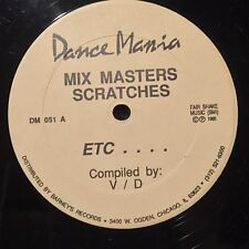 Mix Masters Track Stars Scratches Etc Computer DANCE MANIA house techno djbattle