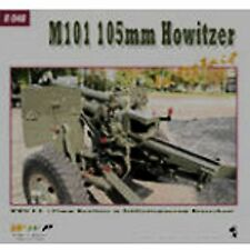 M101A1 105mm Howitzer in Detail -WWII U.S. 105mm Howitzer in..R048