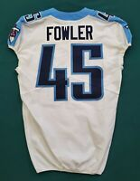 #45 Jalston Fowler of Tennessee Titans NFL Locker Room Game Issued Jersey