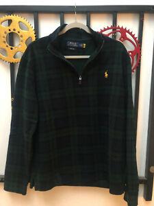 Polo Ralph Lauren Tartan Estate Rib Pullover Sweater - Medium