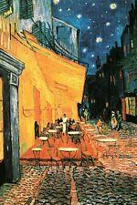 VAN GOGH - CAFE ART POSTER - 24x36 SHRINK WRAPPED - VINCENT PRINT 2385