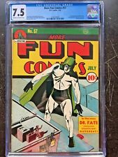 MORE FUN COMICS #57 CGC VF- 7.5; CM-OW; 3rd app. of Dr. Fate! rare!